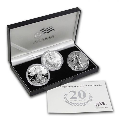 2006 American Silver Eagle 20th Anniversary Set