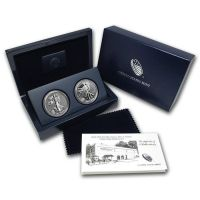 2013 American Silver Eagle 2 Coin West Point Set