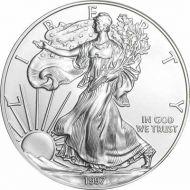 1997 American Silver Eagle - BU