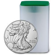 1oz American Silver Eagle - BU Roll (Date of Our Choice)