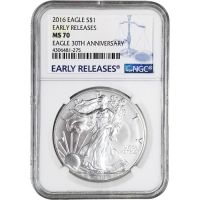 2016 American Silver Eagle - NGC MS 70 Early Release