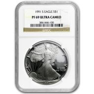1991 American Silver Eagle - NGC PF 69