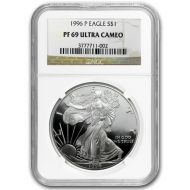 1996 American Silver Eagle - NGC PF 69