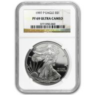 1997 American Silver Eagle - NGC PF 69