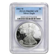 2002 American Silver Eagle - PCGS PF 69