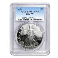 2003 American Silver Eagle - PCGS PF 69
