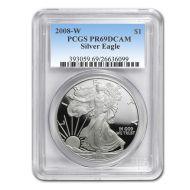 2008 American Silver Eagle - PCGS PF 69