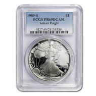 1989 American Silver Eagle - PCGS PF 69