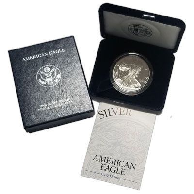 1995 American Silver Eagle - Proof