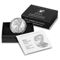 2021 American Silver Eagle (W) - Proof  Type 2