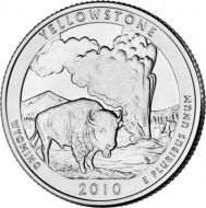 2010 Yellowstone - D Roll (40 Coins)