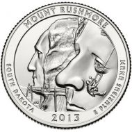 2013 Mount Rushmore - P Roll (40 Coins)