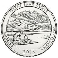 2014 Great Sand Dunes - D Roll (40 Coins)