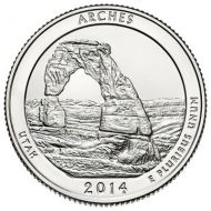 2014 Arches - S Roll (40 Coins)