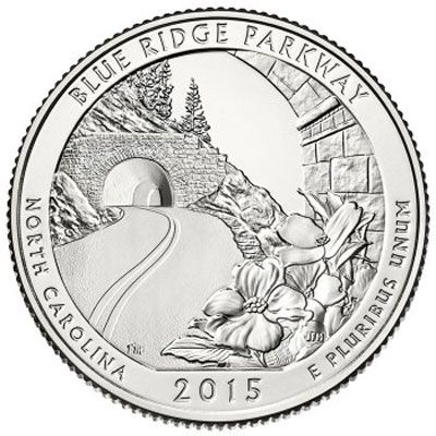 2015 Blue Ridge Parkway - P Single