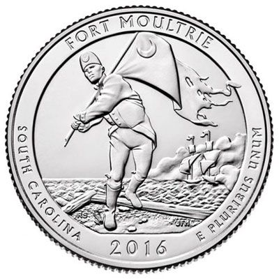 2016 Fort Moultrie - D Single