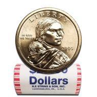 2005 P Sacagawea Dollar - BU Roll