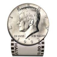 1992 D Kennedy Half Dollar - BU Roll