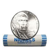2011 P Jefferson Nickel - BU Roll