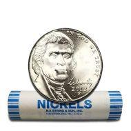 2012 P Jefferson Nickel - BU Roll