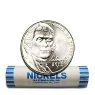 2013 P Jefferson Nickel - BU Roll