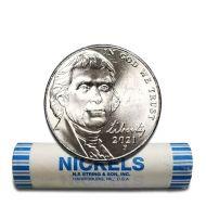 2021 P Jefferson Nickel - BU Roll