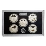 2011 America the Beautiful Quarter Silver Proof Set - Coins Only