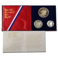 1976 United States 3pc Silver Proof Set