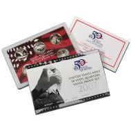 2007 United States 50 State Quarter Silver Proof Set