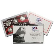 2008 United States 50 State Quarter Silver Proof Set