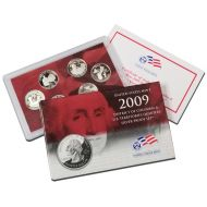 2009 United States Territory Quarter Silver Proof Set