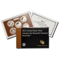2012 America the Beautiful Quarter Proof Set