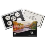 2013 America the Beautiful Quarter Silver Proof Set
