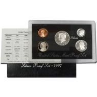 1997 United States Silver Proof Set