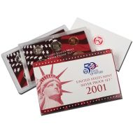 2001 United States Silver Proof Set