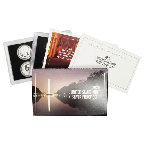 2020 United States Silver Proof Set