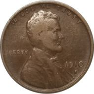 1910 S Lincoln Wheat Penny - VF (Very Fine)