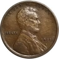 1915 D Lincoln Wheat Penny - VF (Very Fine)