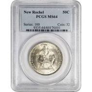 1938 New Rochelle 250th Anniversary - PCGS MS 64