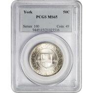 1936 York County Tercentenary - PCGS MS 65