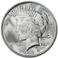 1923 Peace Dollar - (BU) Brilliant Uncirculated