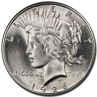 1926 D Peace Dollar - (BU) Brilliant Uncirculated