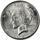 1927 D Peace Dollar - (BU) Brilliant Uncirculated