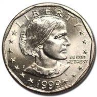 1999 D Susan B Anthony Dollar - Brilliant Uncirculated