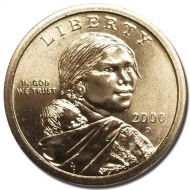 2000 D Sacagawea Dollar - Brilliant Uncirculated