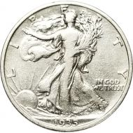 1935 Walking Liberty Half Dollar - VF (Very Fine)