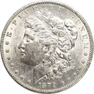 1879 O Morgan Dollar -  (AU) Almost Uncirculated