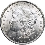 1880 Morgan Dollar -  (AU) Almost Uncirculated