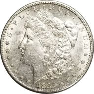 1882 Morgan Dollar -  (AU) Almost Uncirculated