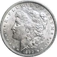 1890 Morgan Dollar -  (AU) Almost Uncirculated